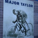 Champion Major Taylor born Nov. 26, 1878. This photo @IndyCycloplex & historic marker not far from our Indy offices. http://t.co/0jep02n8U8