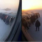 Siberian air passengers had to get out and push their plane in temperatures of minus 52 degrees Celsius-PTI http://t.co/UGz0OIrTP9
