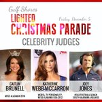 #GulfShores announces celebrity judges for Lighted Christmas Parade http://t.co/tXDAoBbpqp http://t.co/nycr0CcHiq