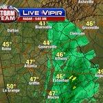 "Good ""Thanksgiving-Eve""! Steady light rain now well east of #Atlanta....gone by 8am-9am! #fox5atl #fox5storm http://t.co/cvryHRojcf"