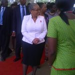 Kenyas first lady at the launch of 16 days of activism on ending violence against women @BBCAfrica @IawrtK http://t.co/fekDKBnEjf