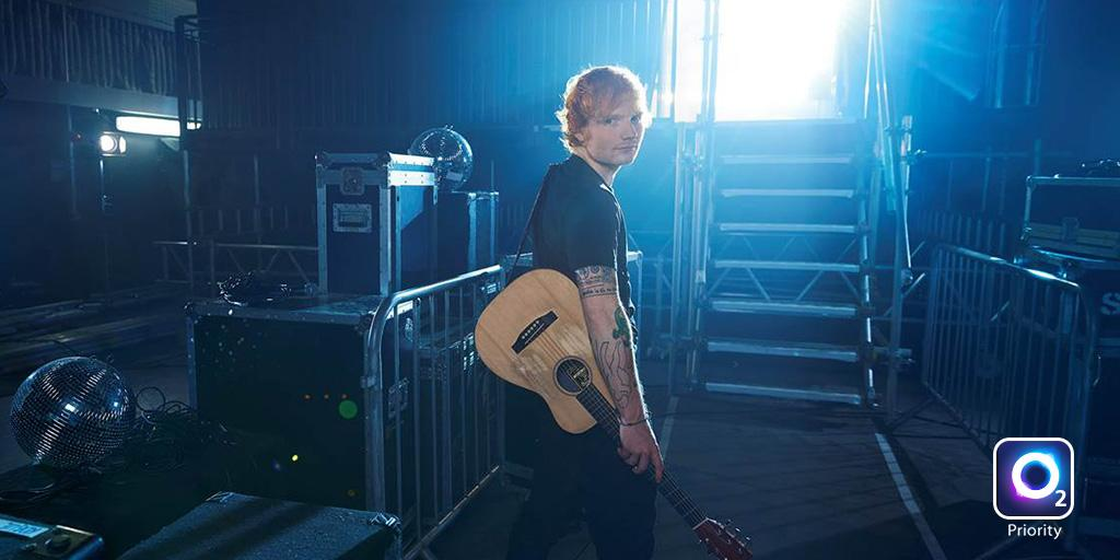 Wow, @edsheeran just announced a second Wembley Stadium show. Get #O2Priority tickets now: http://t.co/4IbcSNdkdW http://t.co/RbBRUoFgmR