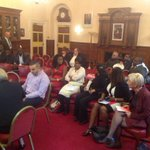 Were now in Wigan town hall where preparations for a citizenship ceremony are underway. #OurDay #wigan http://t.co/G4jyRB55S9