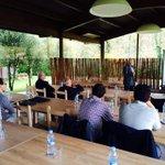 El Sr. Corominas presenta el seminari CoEnerCat fet enguany fet a lEspai @Voldecoloms d @Olotuit @wattia_innova http://t.co/Dm2tT2iLKd