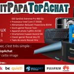 Concours #PetitPapaTopAchat   1667 € à gagner avec le #Lot1 !  Pour participer, RT + Follow @TopAchat :-) http://t.co/Nf0Bwqb9ZD