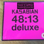 Were gearing up for #Kasabian! #Win a deluxe copy of 48:13 w/behind the scenes DVD! RT to enter, closes 8pm tonight! http://t.co/eh5gvzQ9dp