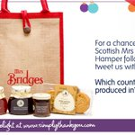 RT&Answer to WIN @tastemrsbridges Christmas Hamper: Which country is Mrs Bridges produced in? http://t.co/yqp1zLoCTe http://t.co/iKHNAqC3wZ