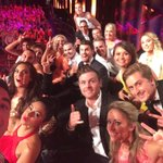 Wow an eviction is about to happen! Selfie on stage with everyone. I take the best selfies @BBAU9 #bbau #JasonBBAU http://t.co/QDIvmgrNKn