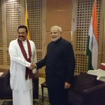 PM @narendramodi thanks Prez @PresRajapaksa for pardoning and sending back 5 Indian fishermen earlier this month. http://t.co/YKHb43iAXv