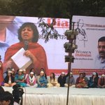 Kanchan Chaudhary, first woman DGP of India speaking for the @AamAadmiParty #WomenDialogue http://t.co/Hfnb1TuK1N