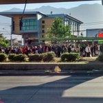 [08:19] Exterior de estacion Trinidad (L4) del @metrodesantiago direccion centro (FOTO @luis_299) http://t.co/dnZkHy4dHE