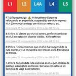 #LTenVivo: Aplicación móvil de @metrodesantiago informa de los problemas en la Línea 4 http://t.co/ketjkn9lij http://t.co/PWV3Rq8EnZ