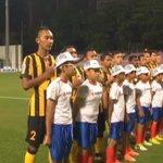 The Malaysian National Anthem fills the stadium #AFFSuzukiCup #MALvTHA http://t.co/Uj2GeDOaOX