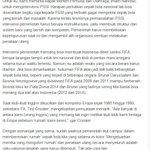 Pak @imam_nahrawi @KEMENPORA_RI @jokowi_do2 ini argumen knp harus #BekukanPSSI dan jangan takut sanksi FIFA http://t.co/PAaj8ufnV1