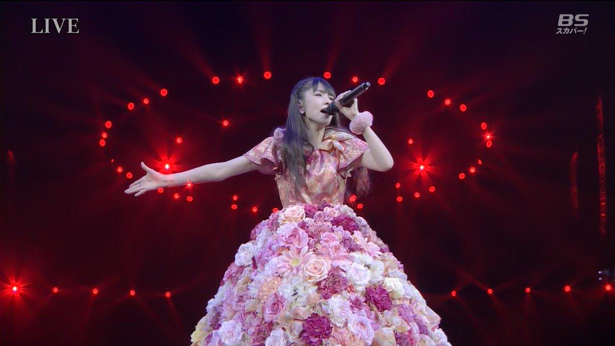 赤いフリージア!!さゆは最後まで美しい! http://t.co/SHV8tsnQhl