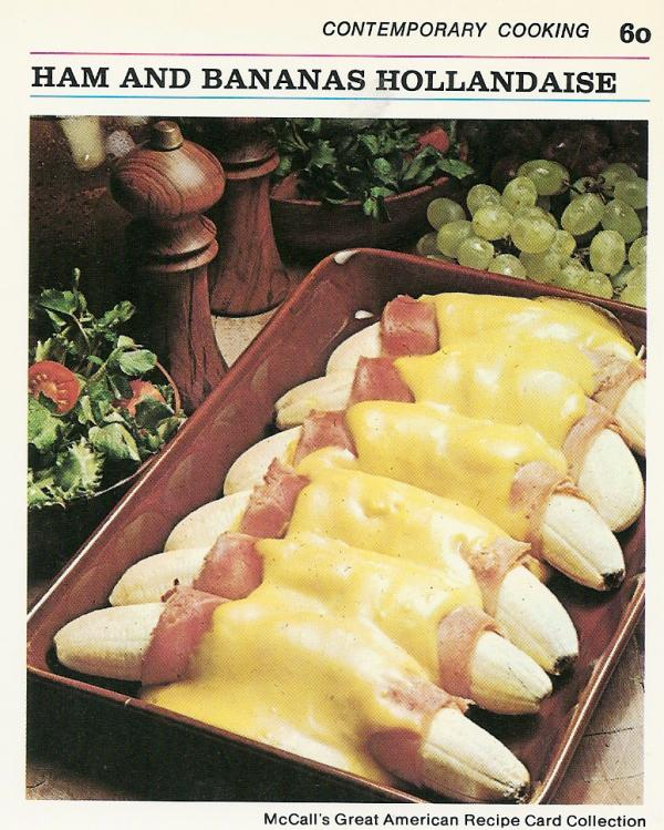 <3 RT @richard_littler: 1970s chefs. Drunk on Cinzano, making shit up as they went along. Banana & Ham Hollandaise. http://t.co/ECl1OpPFYg
