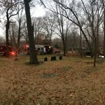 Big rescue operation at the Cedar Grove Cemetery for #mbta collision. #wCVB http://t.co/NLmeu8gHoD