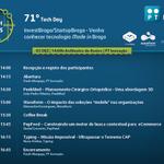 "Inscreva-se no 71º Tech Day ""InvestBraga/StartupBraga – Venha conhecer tecnologia Made in Braga"", dia 3 de dezembro http://t.co/P4hcAzNEMS"