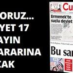 REDDEDİYORUZ... Cumhuriyet 17 Aralık yayın yasağı kararına uymayacak http://t.co/vQB0NyiLdx http://t.co/9KZcI8uYJn
