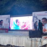 A video about #WomenDialogue being played at venue! http://t.co/HH1S2XflTd