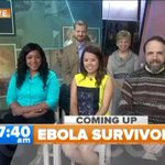 Up Next: 6 American #Ebola survivors speak together for the first time to @MLauer