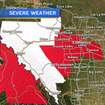 SNOWFALL WARNING for Ctrl. AB.WINTER STORM WARNING for the West. 30-50cm in Mtn. Parks, 10-20cm for #yegwx   #abstorm http://t.co/K6g4DtSuOm