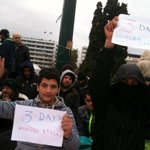 3rd day of hunger strike, 8th in Syntagma Sq RT @mpodil: #syrianrefugeesgr http://t.co/4bKQFiU5ch