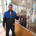 Sergio Sánchez recén chegado ao Pazo. Benvido!! #forzaBreo #fagamosequipo http://t.co/nNtqnFOrgx