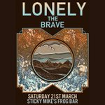Lonely The Brave to play @StickyMikes on Sat 21st March! Tix on sale now. @lonelythebrave @hasslerecords #Brighton http://t.co/G9Q91tVxtB