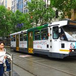 When it rains, everyone boards #Melbournes #trams http://t.co/x885CuiBHh http://t.co/9iBezILwea