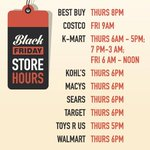 #BlackFriday 2014 details: Sales start on #Thanksgiving in some states. http://t.co/6lcsZyBXxY #holidayshopping http://t.co/9QYaoBu7NK