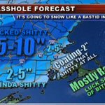 Here are the expected snowfall totals for today. Drive safely massholes! #Boston #Snow #WickedShitty http://t.co/wNBOdorr38