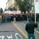 #Greece: Students protest against authoritarianism and security controls in universities http://t.co/WGX9TU5ssY