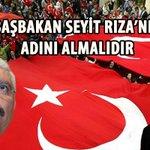 http://t.co/BQ4FaGqqWf Başbakan Seyit Rıza'nın Adını Almalıdır @E_SemihYalcin @Ahmet_Davutoglu #UygurTürküneSahipÇık http://t.co/NEpXJDOses