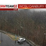 Our #Danbury cam at WCSU is showing #snow! #ctwx #weather #connecticut #wcsu http://t.co/zClhuofE5i