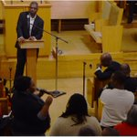 Last nights #Roxbury meeting on #FergusonDecision, Boston racial divide. http://t.co/CLunYG9maT