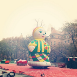 Snow is falling and parade balloons are inflating outside the Museum: http://t.co/oW8WNOu0q2 #Thanksgiving http://t.co/BY0ClxVpT5