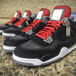 ICYMI: Eminem got laced with an INSANE pair of custom Air Jordan IVs http://t.co/SsWYXfnqIN http://t.co/I99AwNVDXN