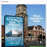 Centraal Beheer haakt in op de posterflater van Albert Heijn. http://t.co/n4sywb61ZZ