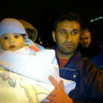 This 8-month girl among the #syrianrefugeesgr gets her dipers changed in the open, says her father #rbnews #greece http://t.co/j6j1Ju12k7