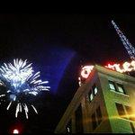 Fireworks still on for tonights tower lighting! http://t.co/FS1i5rKKSY @timestribune @sportsTT http://t.co/edR8BA5rp6