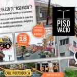 HOY iniciamos #5toEncuentroContraculturaLPZ en #PisoVacío con la inauguración de la #ExpoContracolectiva #paceños http://t.co/DYubvLsGWZ