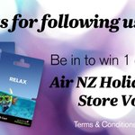 To celebrate 300k followers we have 3 Air NZ Holidays Store vouchers up for grabs! RT by 3pm today to be in to win! http://t.co/UbMud9Dl28