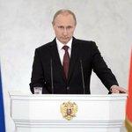 Владимир Путин: Россия никому не угрожает и не будет ввязываться в геополитические интриги http://t.co/K97HrOAheV http://t.co/Y8I2yEoyq3