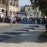 Manifestación afuera del Registro civil @LaSerena_Chile @LaSerenaOnline @elobservatodo, taco infernal en Matta http://t.co/BSdUbsz3lH