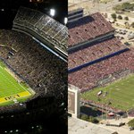 First up, a battle in the SEC West-- RT for @LSUfballs Death Valley or FAV for @AggieFootballs Kyle Field http://t.co/uVLt3Lo62x