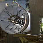Weve started installing our 360 degree ocean tunnel! It weighs 18,000 pounds—or as much as five cars! http://t.co/EVUZCI3YnY