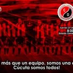 ¿Listos para mañana? ¡Toda Cúcuta al General Santander! Boletería ya a la venta. #VamosCúcuta, unidos por el ascenso! http://t.co/8hl9FlE9qi