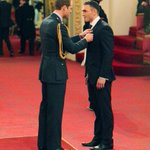 #royal Mr Kevin Sinfield is made a MBE by the Duke of Cambridge during an Investiture ceremony at Buckingham Palace http://t.co/7Jj9ORJCuw