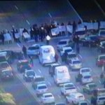 Protestors in #SanDiego blocking I-5 north right now. Traffic backed up for miles. #FergusonDecision http://t.co/VpZ4kAIOut